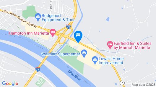 Red Roof Inn Marietta Map