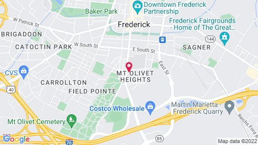 Hollerstown Hill Bed and Breakfast Map