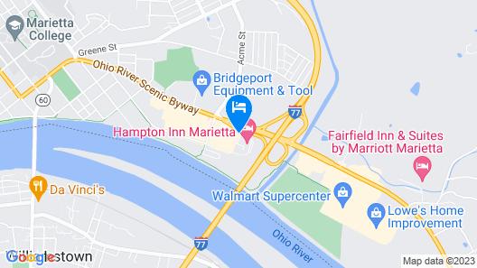 Microtel Inn & Suites by Wyndham Marietta Map