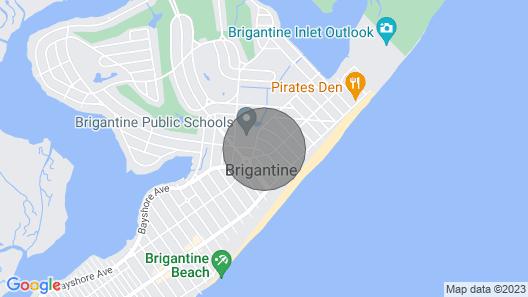 Brigatine House in Brigantine Map