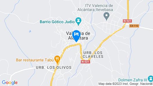 Hotel Ibérica Map