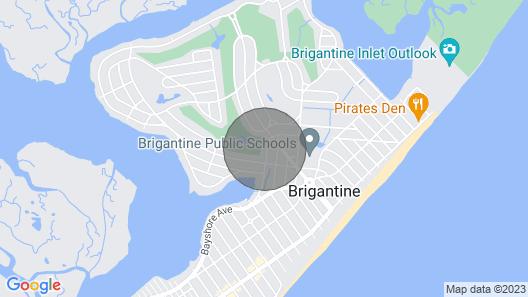 Golf Course 1 BR Studio 2 Blocks From Beach Map