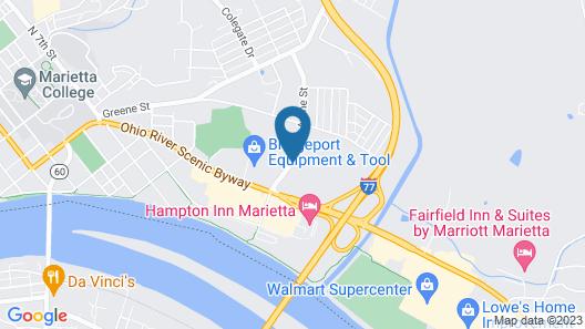 Super 8 by Wyndham Marietta Map