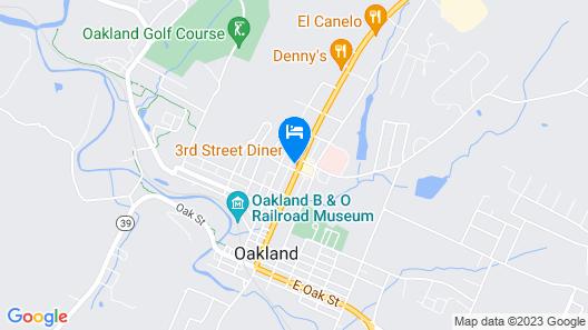 Oak Mar Motel Map