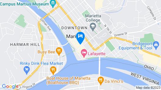 The Hackett Hotel Map