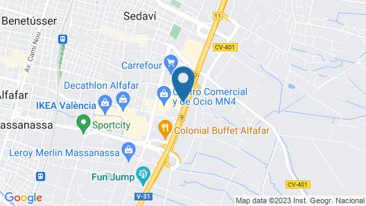 Apartahotel Albufera Map