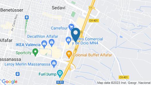 Hotel Albufera Map