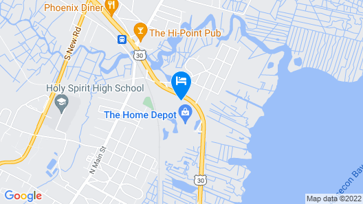 Days Inn by Wyndham Absecon Atlantic City Area Map