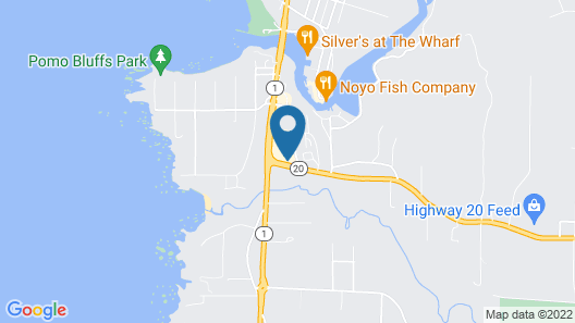 Holiday Inn Express Ft Bragg Map