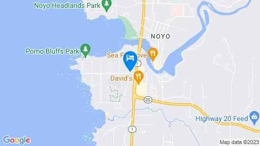 Emerald Dolphin Inn Map