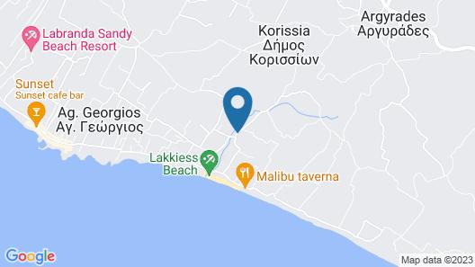 Ccb Bruskos Hotel Map