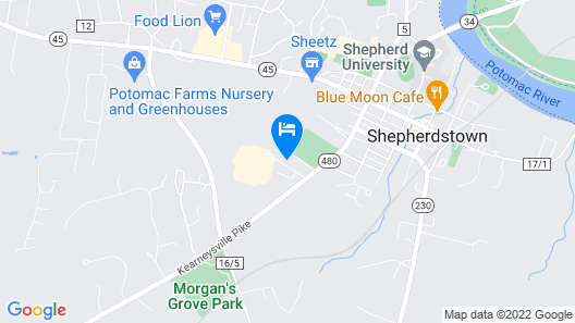 Clarion Hotel & Conference Center Map