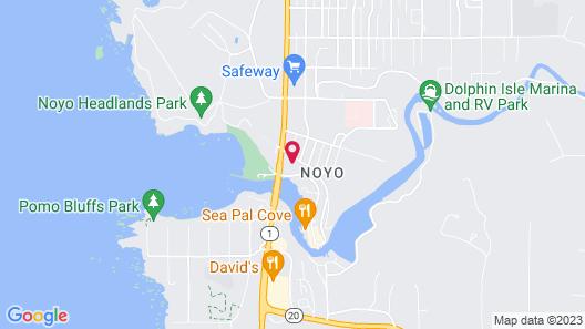 Harbor Lite Lodge Map