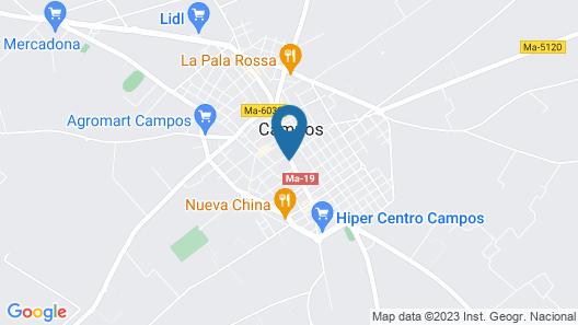 Hotel Segles Map