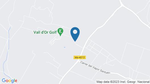 Sa Nau Villas Adults Only Map