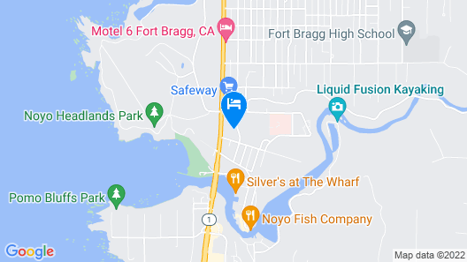 Seabird Lodge Map