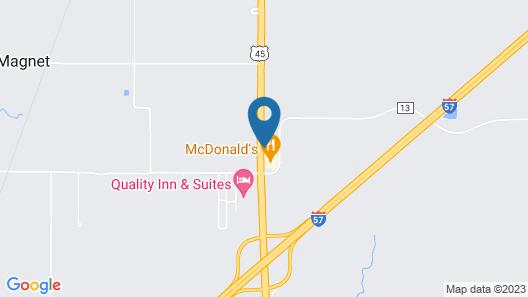 Motel 6 Mattoon, IL Map