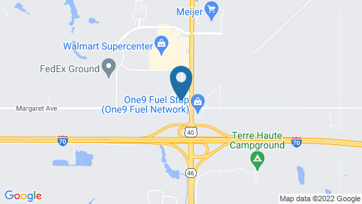 Holiday Inn Express Hotel & Suites Terre Haute, an IHG Hotel Map