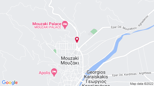 Mouzaki Palace Hotel & Spa Map