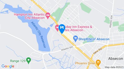 Superlodge Atlantic City/Absecon Map