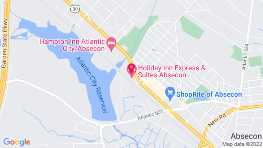 Holiday Inn Express & Suites Absecon-Atlantic City, an IHG Hotel Map