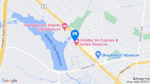 Garden State Inn Map