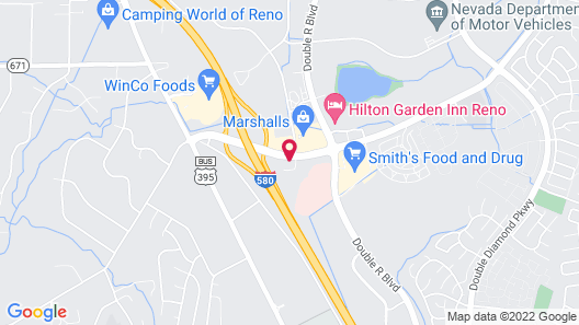 SpringHill Suites by Marriott Reno Map