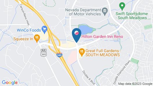 Hilton Garden Inn Reno Map