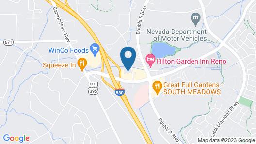 Sonesta ES Suites Reno Map