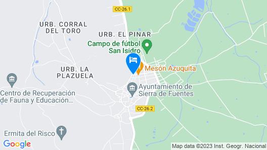 Casa Rural Las Avutardas Map