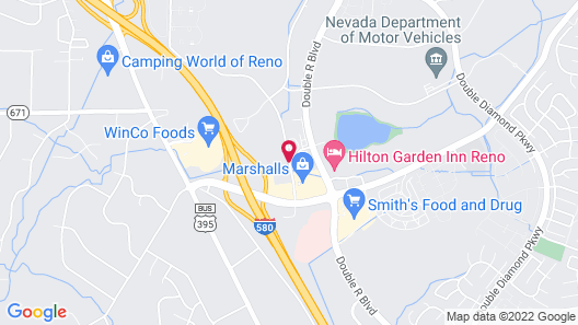 Extended Stay America Reno - South Meadows Map