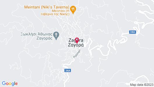 Guesthouse Kapaniaris Map