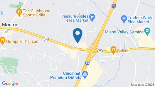 Best Western Monroe Inn Map