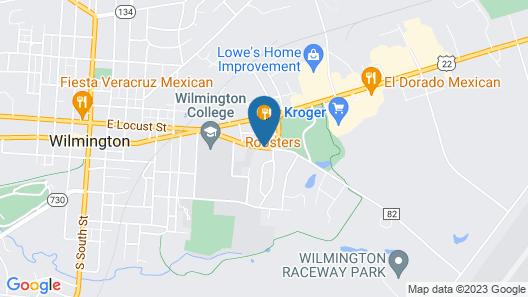 Wilmington Inn Wilmington Map