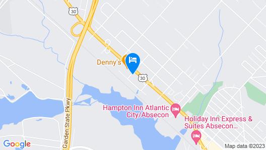 FairBridge Hotel Atlantic City Map