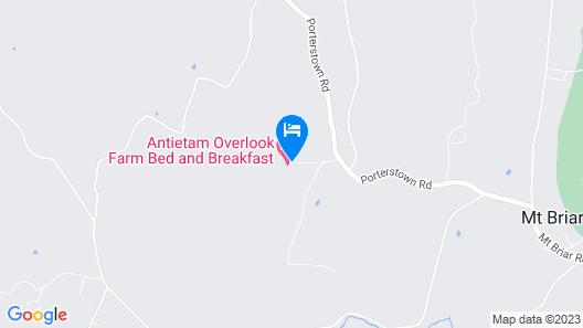 Antietam Overlook Farm Map
