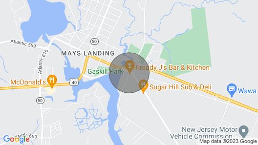 The Inn at Sugar Hill Map
