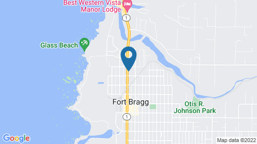 Glass Beach Inn Map