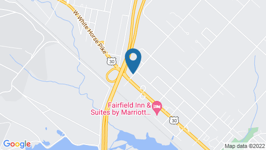 Relax Inn Atlantic City Galloway Map