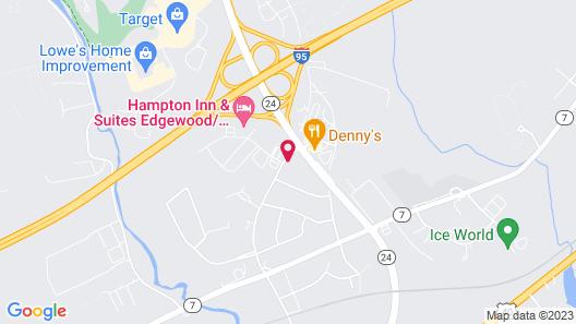 Motel 6 Edgewood, MD Map