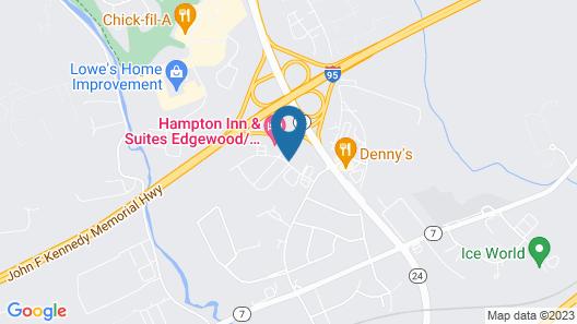 Quality Inn & Suites Bel Air I-95 Exit 77A Map