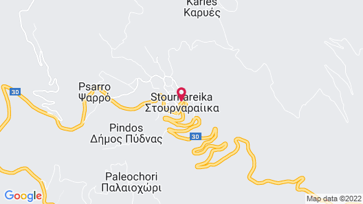Simplistic Holiday Home in Stournareika With Balcony Map