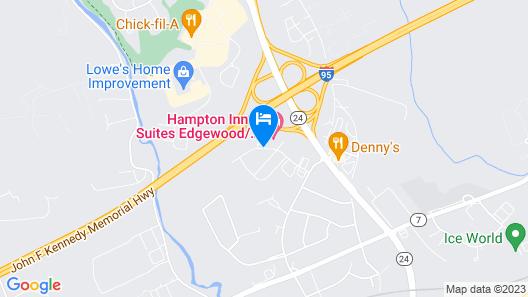 La Quinta Inn & Suites by Wyndham Bel Air/I-95 Exit 77A Map