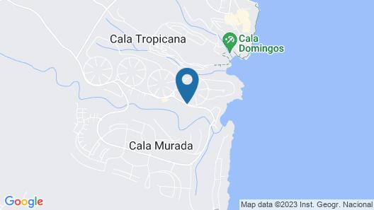Apartamentos Cala Murada Tennis Map