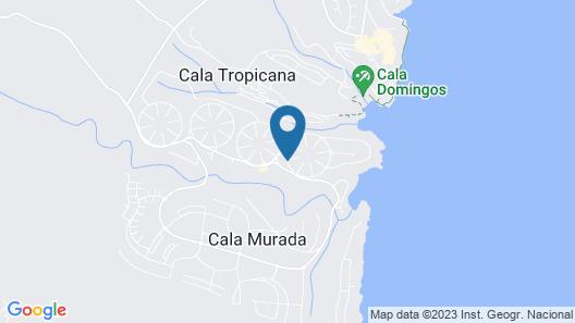 Apartamentos Cala Murada Minigolf Map