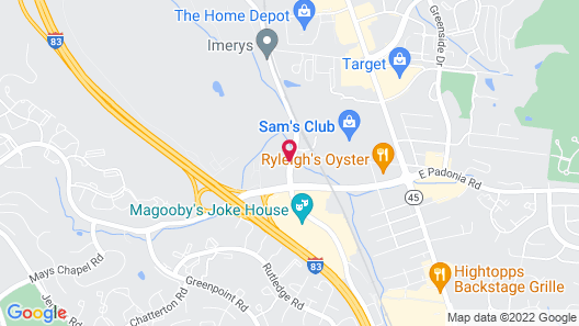 Extended Stay America Baltimore - Timonium Map