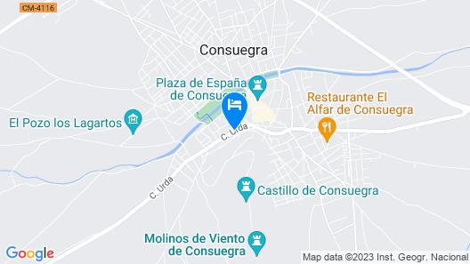 Apartamentos OnceMolinos Map
