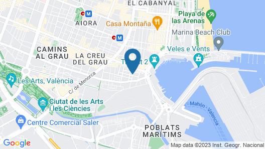 Hostal Cama del Mar Map