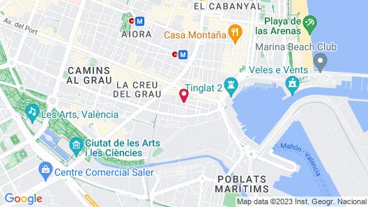 Flatsforyou Marina Map