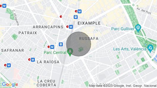 Ruzafa Centro I. Wi-fi Apartment. AIR Conditioner Map